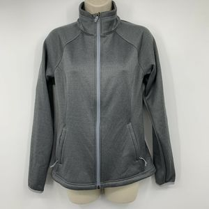 The North Face Jacket Gray Fleece Lined Microsoft